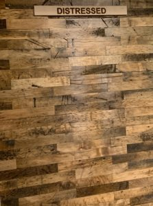 Thin Wood Flooring-Distressed