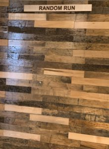 Custom Reclaimed Timber Flooring- Random Run